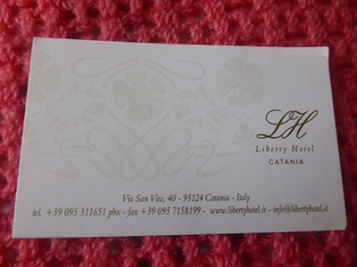 catania liberty hotel card