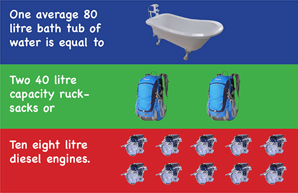 600 bath tub infographic