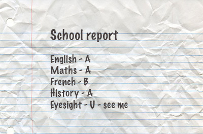 eyesight report