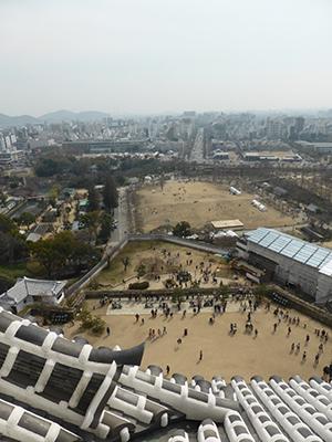 himeji view 400