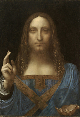 400 salvator mundi original