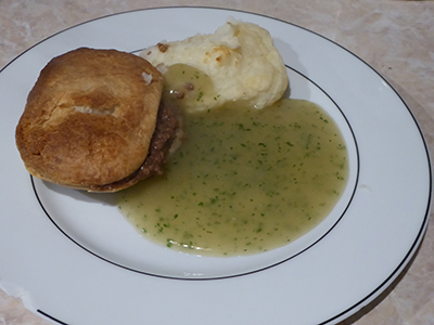 400 freezer pie and mash at home