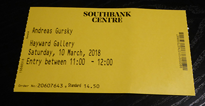 400 gursky ticket