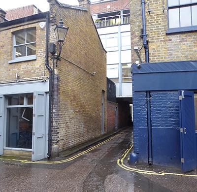 400 portland mews alley