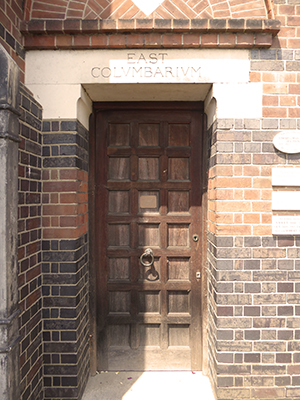 400 east columbarium door