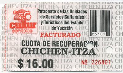 chichen itza ticket