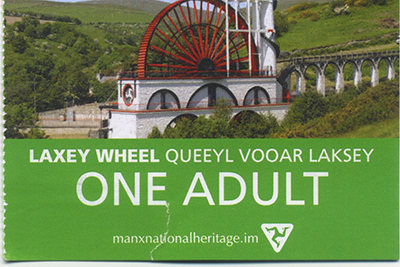 400 laxey ticket