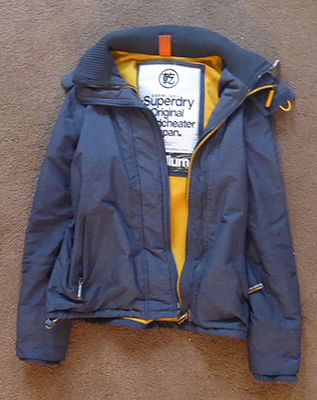 400 superdry coat