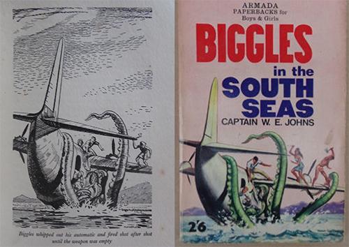 500 biggles south seas