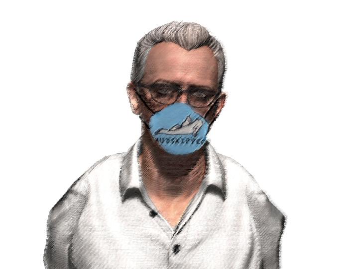simon mask